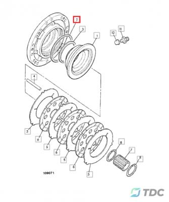 Guminis žiedas (813/50012)