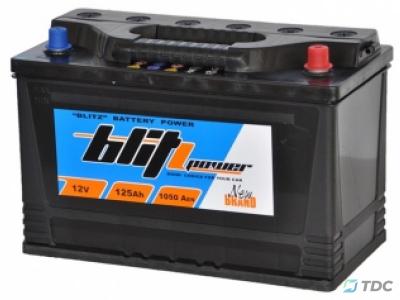 Akumuliatorius Blitz 125Ah / 1050A