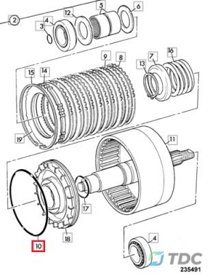 Guminis žiedas 828/00414