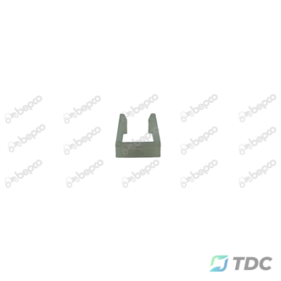 Plastikinis spaustukas 21x10.5x18 mm